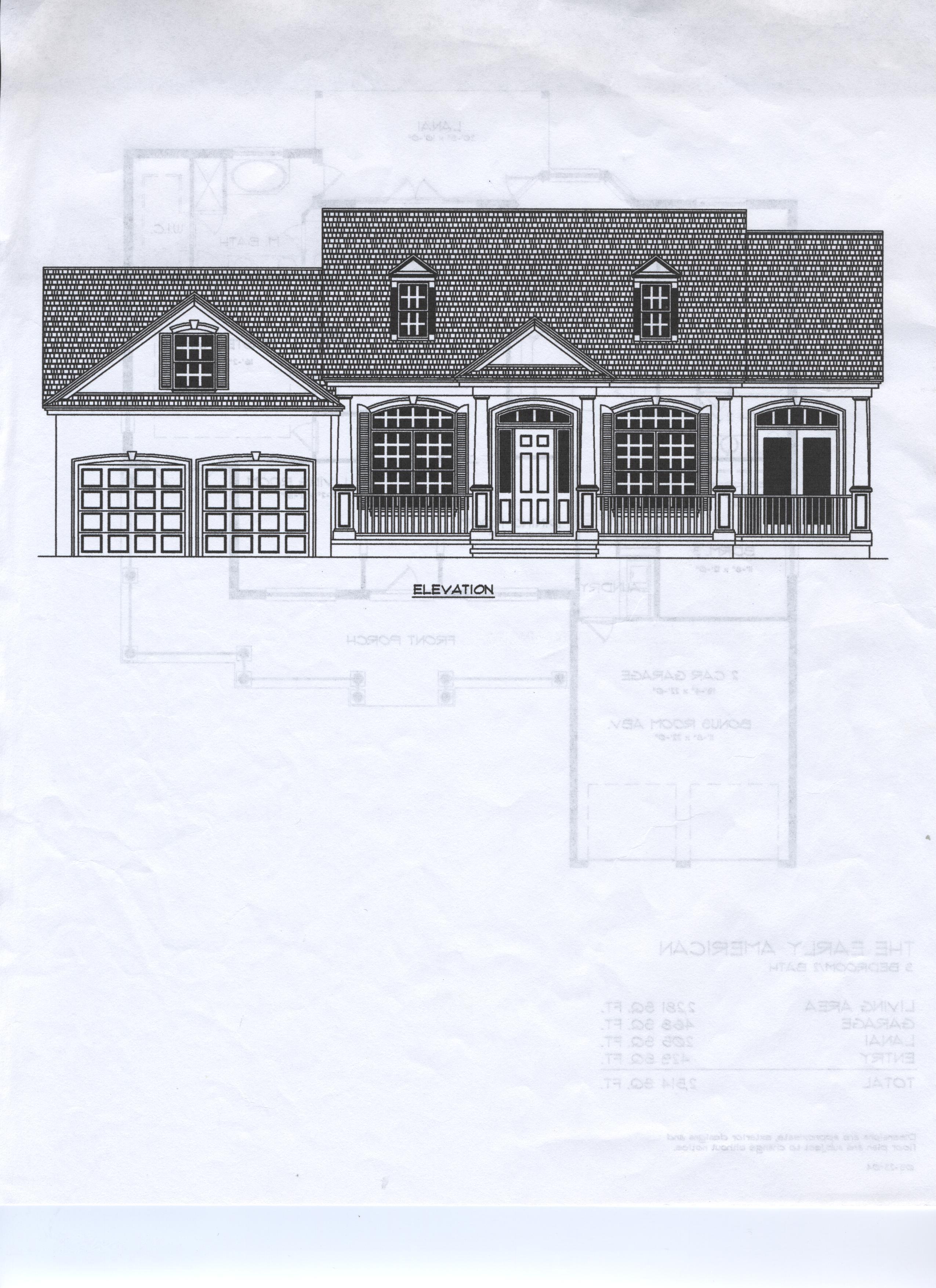 Single family plans r nunez homes inc for American family homes inc